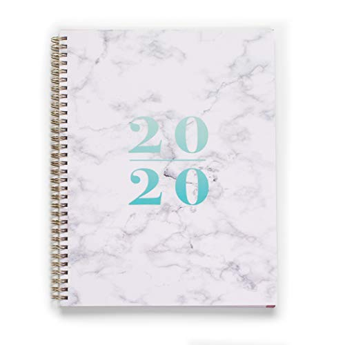 "2020 KIT Lite Weekly Planner - Chic Women�s Organizer with Monthly Calendar � Spiral Bound Appointment Book � Schedule Your Business Day � Agenda with Premium Paper, 8.5 x 11"", Marble"