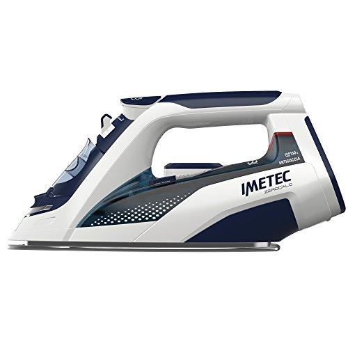 Imetec ZeroCalc Ferro Da Stiro Z3 3500, Tecnologia Anticalcare, Piastra Inox 2400W, Colpo Vapore 150 G, Tecnologia A Risparmio Energetico