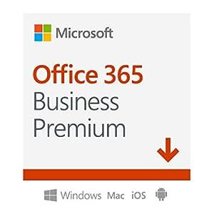 Microsoft Office 365 | Business Premium | 5 Dispositivo | 1 Utente | 1 Anno | PC/Mac | Codice d'attivazione via email