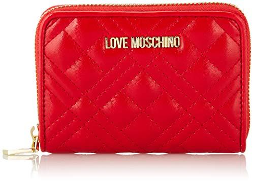 Love Moschino Damen Jc5622pp0a Geldbeutel, Rot (Red), 2.5x10x13 Centimeters
