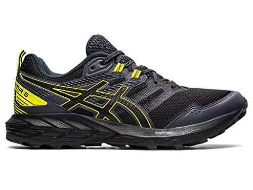 ASICS Men's Gel-Sonoma 6 Running Shoes, 12M, Graphite Grey/Sour Yuzu