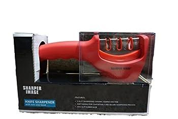 Shaper Image Knife Sharpener with non-slip base