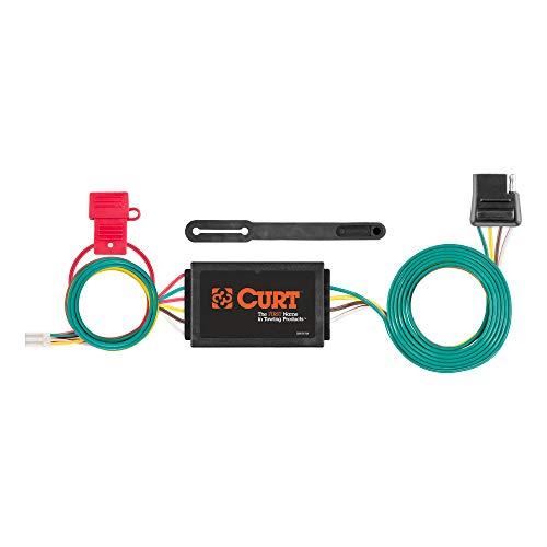CURT 56370 Vehicle-Side Custom 4-Pin Trailer Wiring Harness, Select Honda CR-V