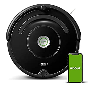 iRobot Roomba 675 Robot Vacuum-Wi-Fi Connectivity, Works with...