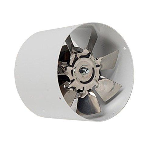 B Blesiya Potente 4 Pulgadas Silencioso Ducting Fan Inline Duct Fan Extractor De Aire Refrigeración Baño Ventilación Ventilador De Metal 220V