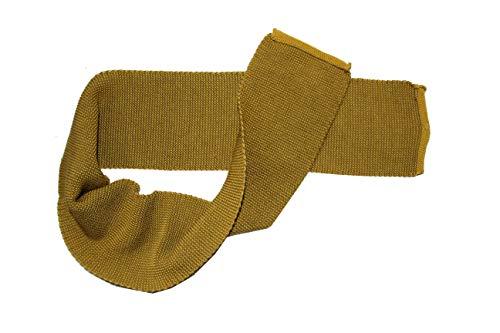 Disana Melange-Schal aus 100% Merino-Schurwolle (curry/gold)