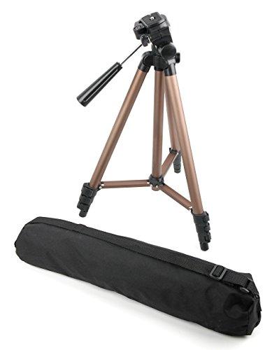 DURAGADGET Trépied Ajustable Solide pour Canon EOS 2000D / Rebel T7, EOS 4000D et EOS M50 Appareil Photo SLR - qualité Professionnelle