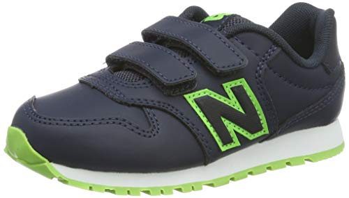 New Balance KV500V2Y Sneaker, Blue (Navy/Green), 35 EU