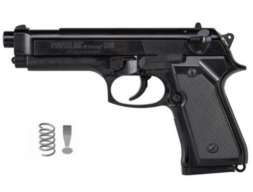 Daisy 340 - Pistola de aire comprimido (muelle) de balines BB's de acero cal 4,5mm - <3,5 julios