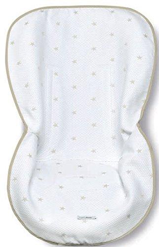 Bimbi Class - Capota grupo 0, blanco y lino