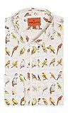 Simon Carter Chemise à cigarettes vintage Motif volière et cage oiseaux - - 44