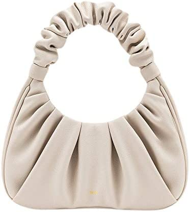 JW PEI Small Handbag Purse Clutch Vegan Leather Hobo Handbags for Women Magnetic Closure Beige product image