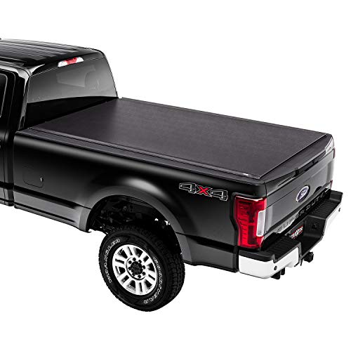 """TruXedo Lo Pro Soft Roll Up Truck Bed Tonneau Cover   579601   Fits 2017 - 2021 Ford F-250/350/450 Super Duty 8' 2"""" Bed (98.1"""")"""