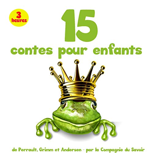 15 contes pour enfants audiobook cover art