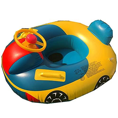 LFJG Fila Flotante con Cama De Aire Flotadores para Piscina, Fila Flotante Inflable Interactiva para Padres E Hijos, Juguetes Acuáticos para Niños Salón Y Silla Cama Flotante