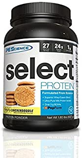 PEScience Select Protein Powder, Snickerdoodle, 27 Serving, Whey and Casein Blend