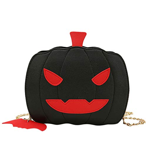 Mikiya 2020 Halloween-Karnevals-Schultertasche Frauen Schultertasche Kürbis Handtasche Basteln kreative Halloween Candy Bag Schultertasche