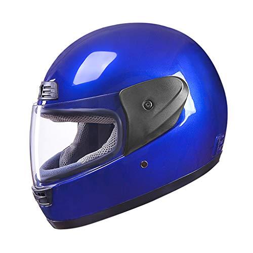 JIE KE motorcykel helhjälm,kamp mot förkylningar HD anti-dimma huvud säkerhet cykelhjälm vändbar vuxen unisex b