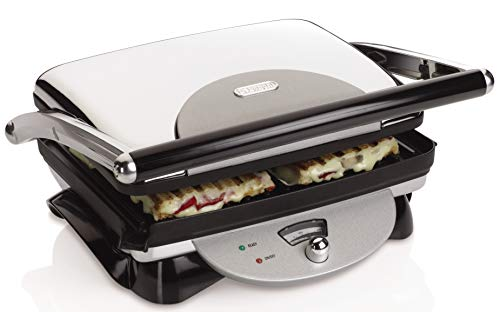 De'Longhi us-jap-hu-nii-ma2082 CGH800 Contact Grill and Panini Press, 14.8 Inch, Grey...