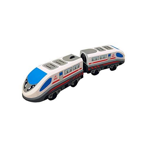 Tren De Carga Steam-Era, Juguete De Tren Eléctrico Clásico Para Niños, Tren De Locomotora A Batería, Juguete De Locomotora Para Niños, Tren De Madera Y Vías Accesorios De Juguete Para Niños Pequeños