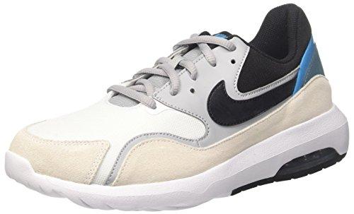 Nike Air MAX Nostalgic, Zapatillas de Gimnasia para Hombre, Blanco (Whiteblackwolf Greynoise Aq 100), 41 EU