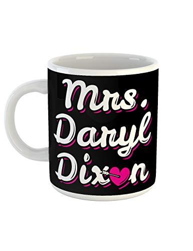 clothinx Kaffeetasse mit Aufdruck Mrs Daryl Dixon