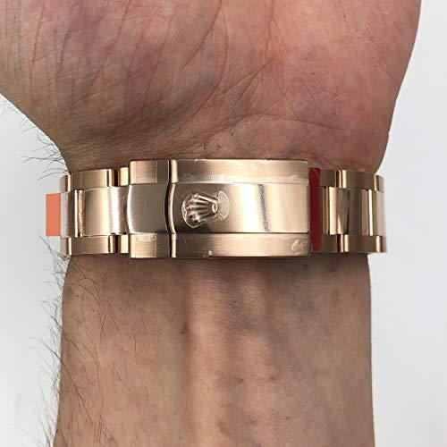 Rolex Sky Dweller Sundust Dial 18kt Everose Gold Mens Watch 326935