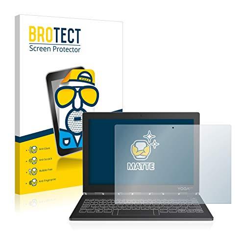 BROTECT Protector Pantalla Anti-Reflejos Compatible con Lenovo Yoga Book C930 10.8' (2 Unidades) Pelicula Mate Anti-Huellas