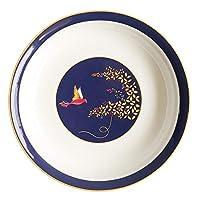 骨中国のカラフルな花と鳥のパターンの陶磁器の皿のボウルとプレートセット-腐敗