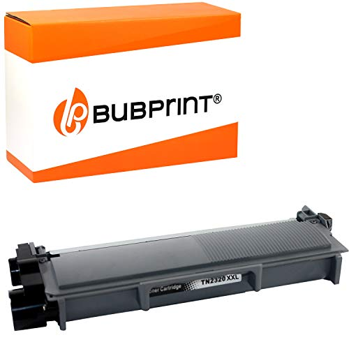 Bubprint XXXL Toner kompatibel für Brother TN-2320 TN-2310 für DCP-L2500D DCP-L2520DW DCP-L2540DN DCP-L2560DW HL-L2300D HL-L2340DW HL-L2360DN HL-L2365DW MFC-L2700DN MFC-L2700DW Schwarz