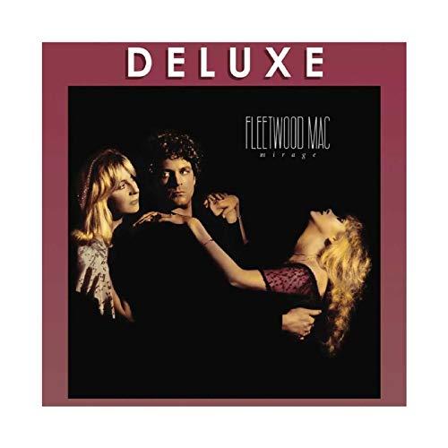 Singer Fleetwood Mac Mirage - Póster de lona para decoración de pared (50 x 50 cm)