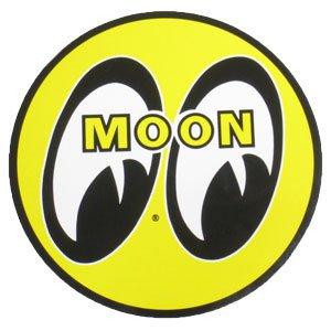 ムーンアイズ ステッカー MOONEYES アイボール 直径13cm_SC-DM009-MON