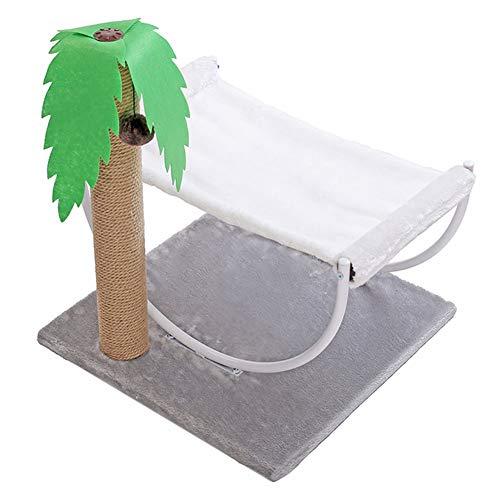 XF Pet Cats Bed-Luxury Comfort Double Layer Memory Foam Plush-Cat Hammock Swing
