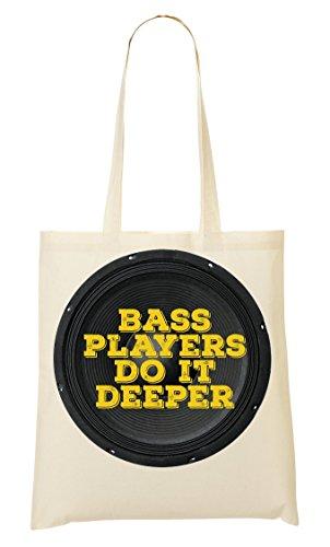C+P Bass Music Funny Bass Guitar Loudspeaker Tragetasche Einkaufstasche