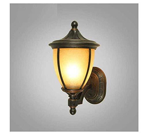 BOSSLV Lampes Murales de Lavage Lampes Lumières Spotlights Éclairage Rétro Lichtwaterproof Balcon Lampe Extérieure Lampe Sphérique Lampe de Jardin Villa Porte Allée Corridor Jardin