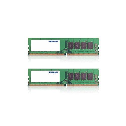 Patriot Memory Signature Line DDR4 8GB (2 x 4GB) 2400MHz UDIMM Dual Kit Module with Heatshield - PSD48G2400KH