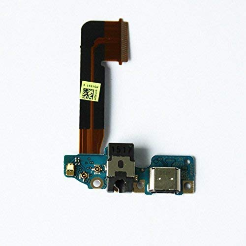 ePartSolution_HTC One M9 USB Charger Charging Port Flex Cable Dock Connector USB Port With Mic Microphone Flex Cable Repair Part USA Seller