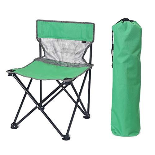 WEIJINGRIHUA Sillas plegables para acampar al aire libre, ligero, mini asiento de picnic, portátil, 5 colores (color : E)