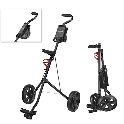 Great Features Of CaddyTek SuperLite Golf Pull Cart, Model CaddyLite 5.8