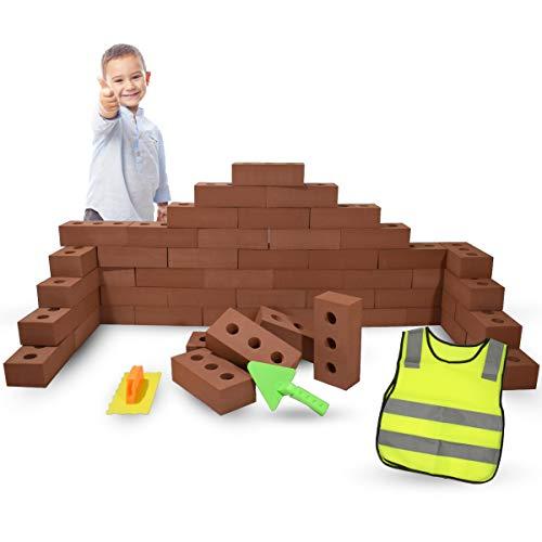 Bloques de Construcción Gigantes de Goma EVA, Juegos de Construcción