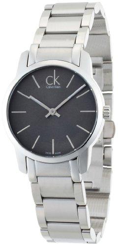 Calvin Klein Calvin Klein City Lady K2G23161 - Reloj analógico de Cuarzo para Mujer, Correa de Acero Inoxidable Color Plateado