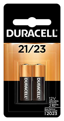 Duracell Alkaline 12-Volt 21/23 Battery, Pack of 2