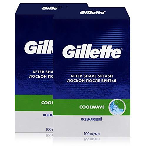 Gillette Series After Shave Cool Wave 100ml (2er Pack) (2er Set)