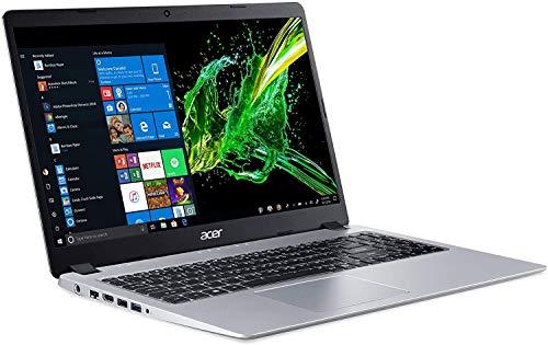 Acer Aspire 5 Slim 15.6' Full HD IPS Display Laptop, AMD Ryzen 5 3500U, Vega 8 Graphics, 8GB DDR4, 512GB SSD, Backlit Keyboard, Windows 10 Home, Silver, TWE Wireless Mouse
