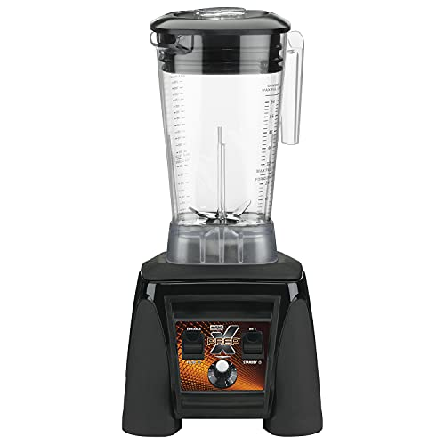 Waring Commercial MX1200XTX 3.5 HP Blender with Variable Speed Dial Controls and a 64 oz. BPA Free Copolyester Container, 120V, 5-15 Phase Plug