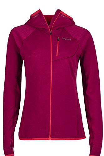 Marmot Women's Neothermo Hoody, Red Dahlia, X-Small