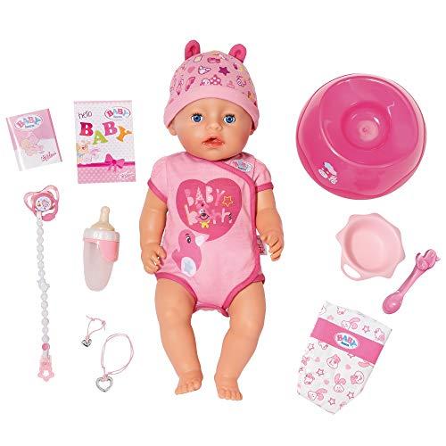Giochi Preziosi Baby Born, Girl Soft Touch Bambola, Multicolore, 43 cm