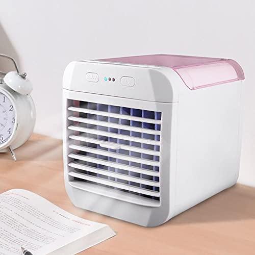 Eternal Space Mini aire acondicionado portátil ventilador de refrigeración de agua refrigerador USB multifunción humidificador para oficina en casa