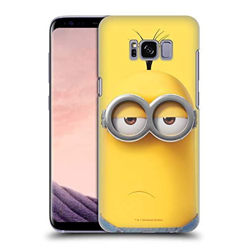 Head Case Designs Licenza Ufficiale Despicable Me Kevin Minions Tutto Il Viso Cover Dura per Parte Posteriore Compatibile con Samsung Galaxy S8