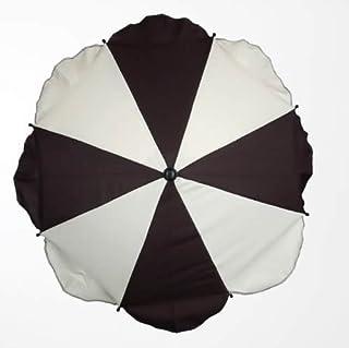 braun Durchmesser 70 cm Altabebe AL7002-07 Sonnenschirm mit UV-Schutz
